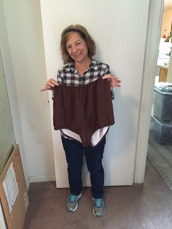 Granny panties as big as me!
