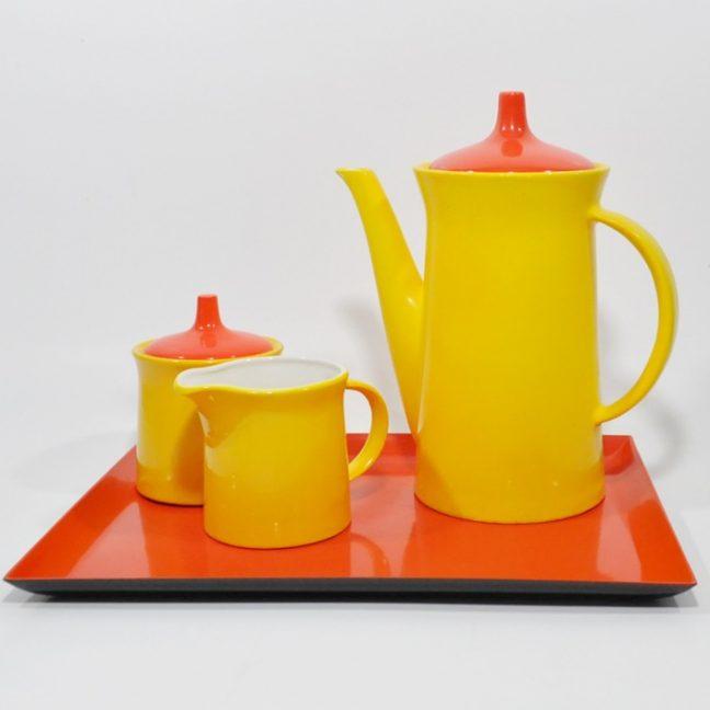 Yellow And Orange Kitchen: '60s Yellow & Orange