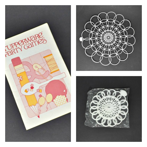 Tupperware Doilies and A Vintage Tupperware Video