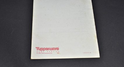 Tupperware Party Games Booklet