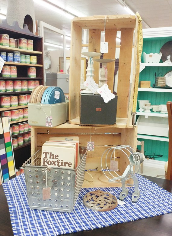 Antique Booth Pictures for July