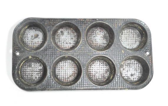 Old muffin tin