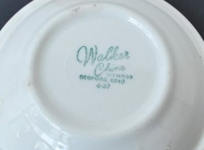 1959 Walker China mark
