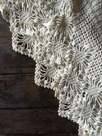 Crochet valance