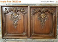 Cabinet doors suitable for hanging on the wall