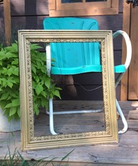 Large, vintage frame on Etsy
