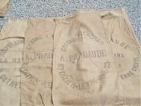 Vintage grain sack on Etsy