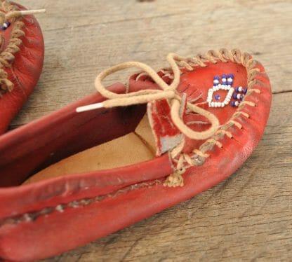 Child's vintage moccasins