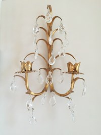 Sconces with prisms