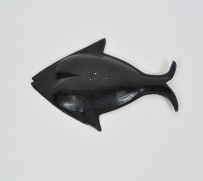 Back of fish ashtray