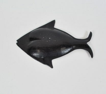 Back of fish ashtray