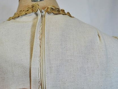 Zipper flaw in vintage Gunne Sax maxi dress