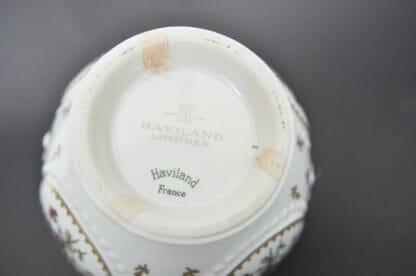 Bottom of small Haviland Limoges jar