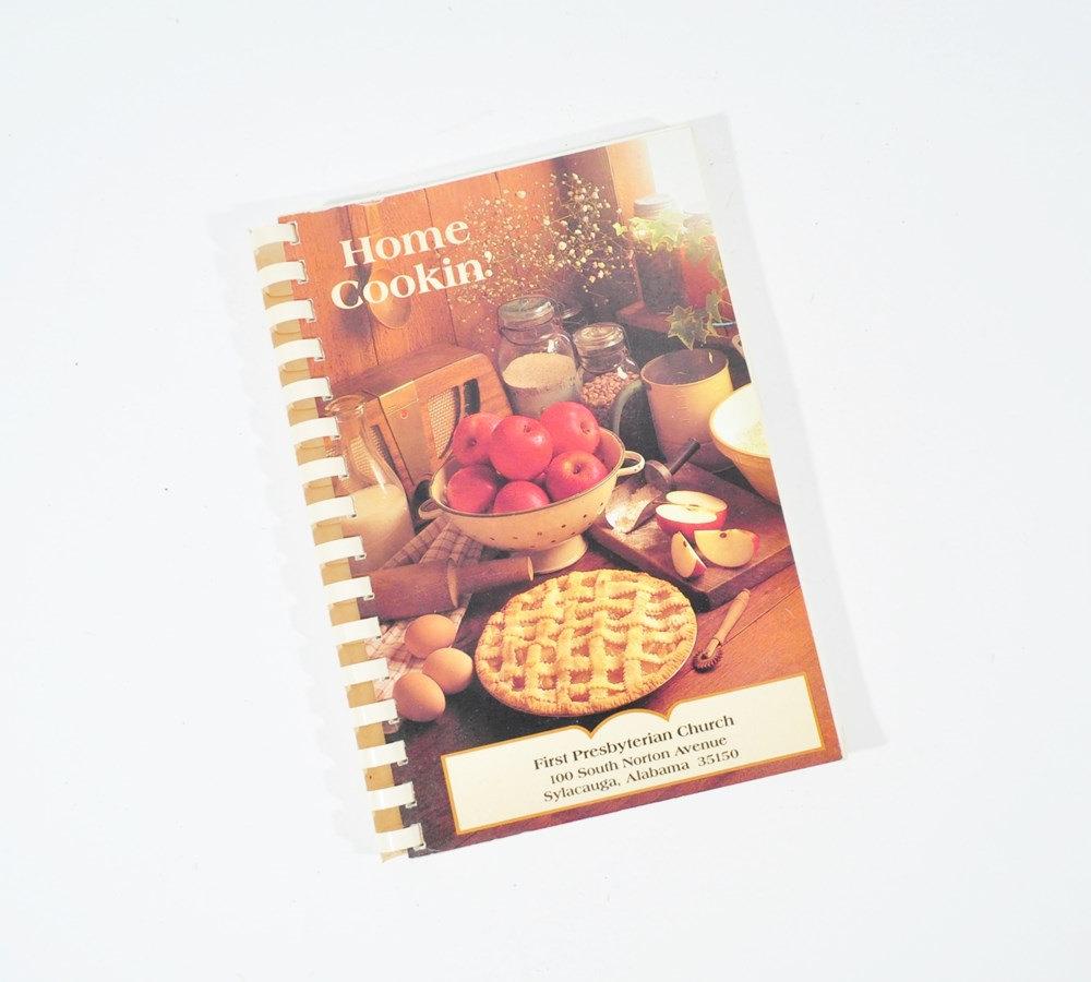 Sylacauga Alabama First Presbyterian Church Charity Cookbook Home Cookin