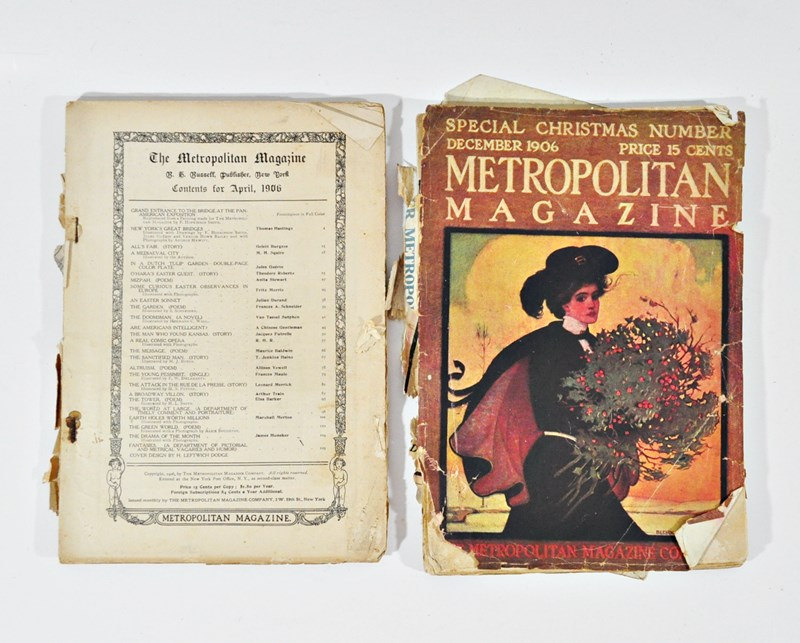 1906 Metropolitan Magazines – April and December