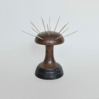 Wood MCM hor dourves holder or toothpick holder. Mushroom or atomic shape.