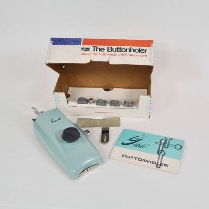 Greist Buttonholer Model 7 High Bar Left Needle Zig Zag Sewing Machines