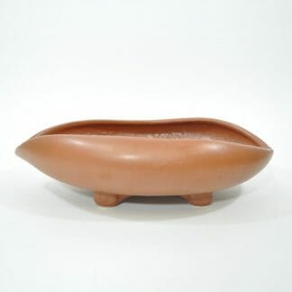 Shallow McCoy oval, curled sides planter