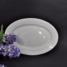 Vintage white ironstone platter for your farmhouse decor.