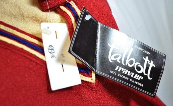 Talbott's hang tags