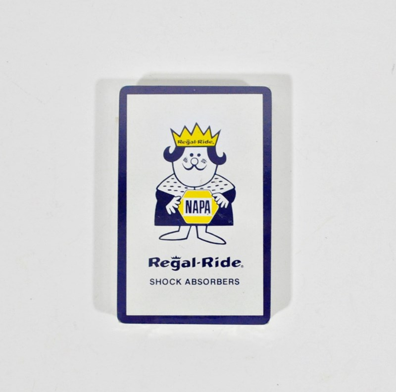 NAPA Advertising Playing Cards – Regal Ride Shock Absorbers