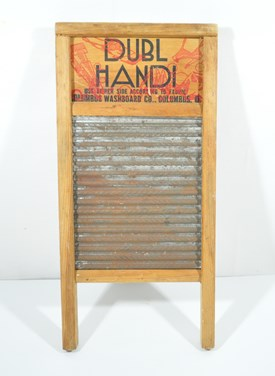 Old, small washboard