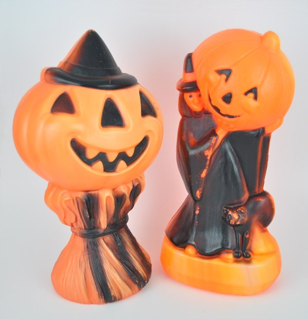 1970's Halloween decorations