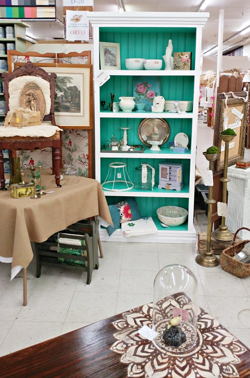 Booth D-26 at Angel's Antique Mall in Opelika, Alabama