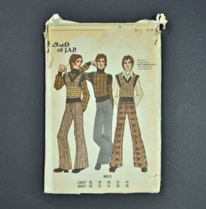Vintage men's Butterick pattern 6791