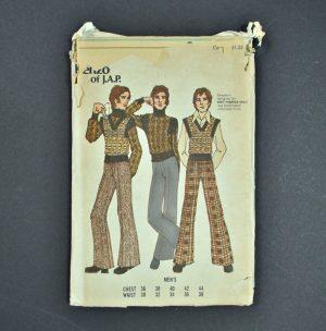 Vintage men's Butterick pattern 6791