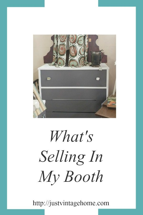 What's selling in my booth March 2017