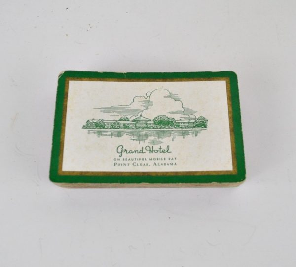 Grand Hotel Point Clear Alabama souvenir playing cards