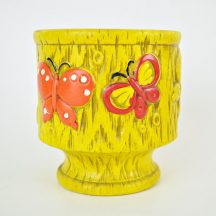 1960's Mod Butterfly Planter