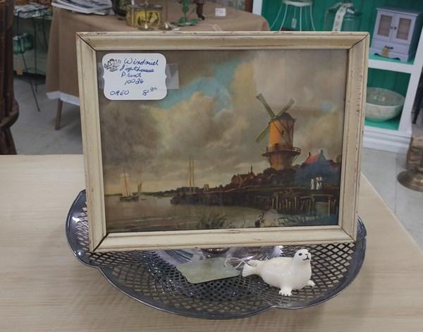 Vintage Windmill Print