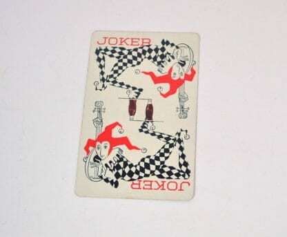 Vintage 1950's Coca Cola playing card joker