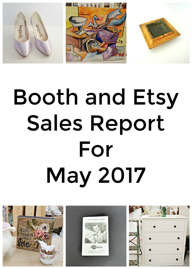 Booth and Etsy Sales Report for May 2017