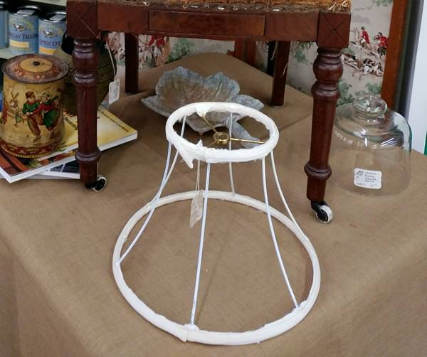 Lamp shade skeleton