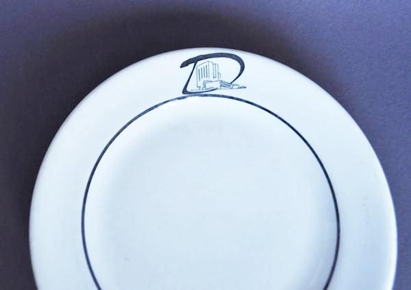 Dinkler Tutwiler restaurant plate