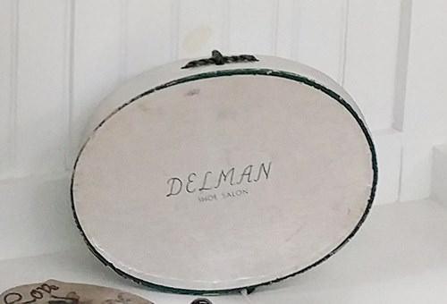 Delman shoe box
