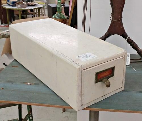 White file drawer
