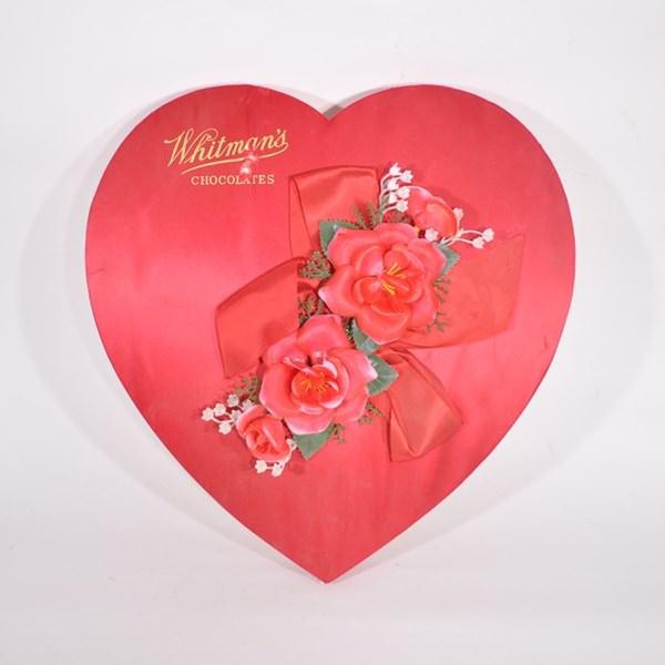 Vintage Valentine Candy Heart Box