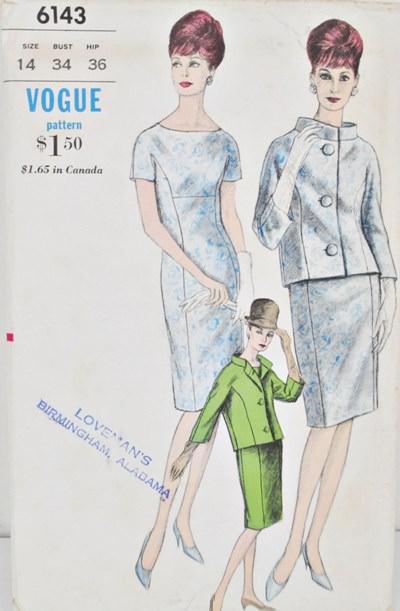 Vintage Vogue pattern 6143