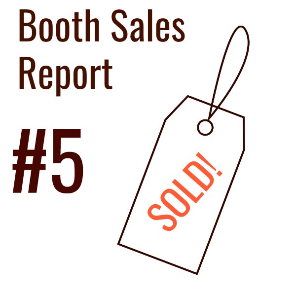 Booth Sales Report #5