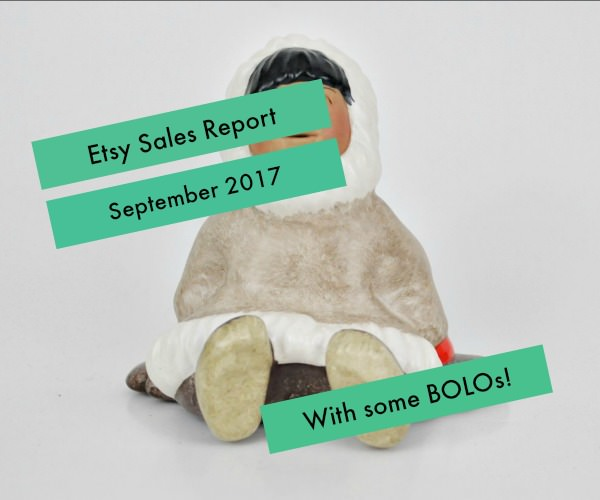 Etsy sales report for September 2017