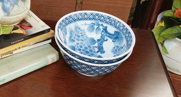 Recent Blue and White Bowls
