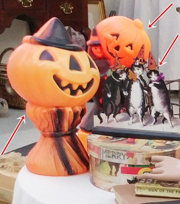 Halloween Blow Molds and Decorations