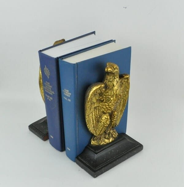 Vintage Eagle Bookends