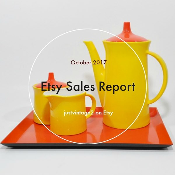 Etsy Sales Report for October – Better Than They Have Been Lately