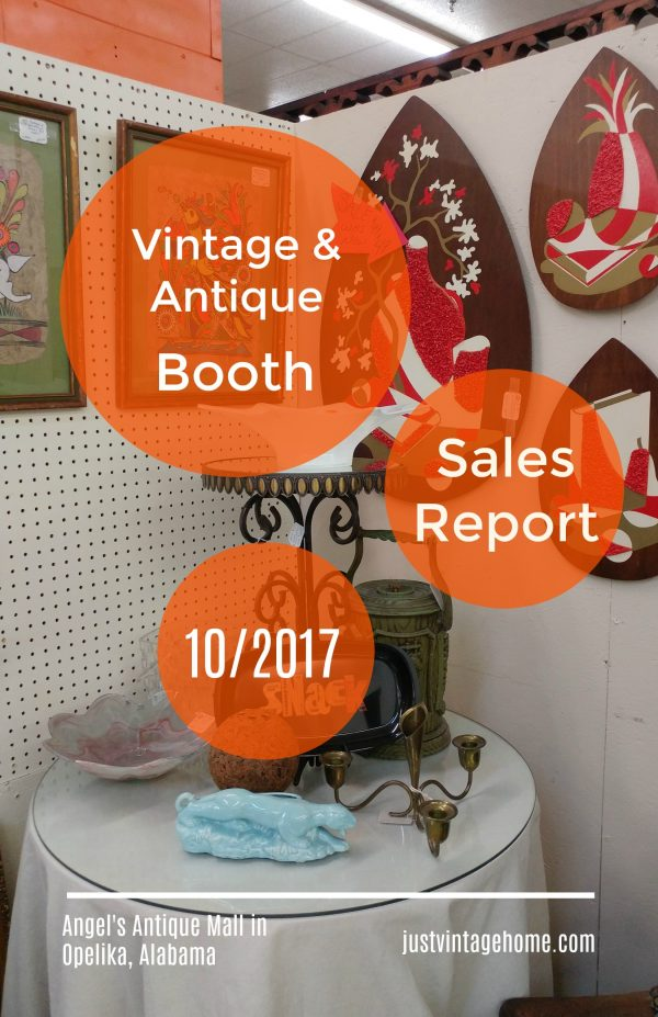 Booth sales report for the month of October 2017 Pinterest Graphic