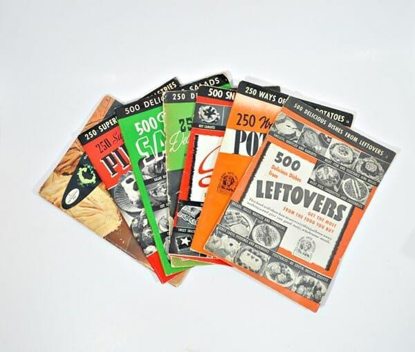 1940's Culinary Arts Cookbooks